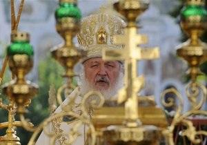 Патриарх Кирилл совершит молебен в честь инаугурации Януковича