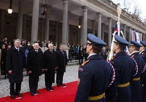 В Словакии лидеры Вышеградской четверки обсудят ситуацию в Украине