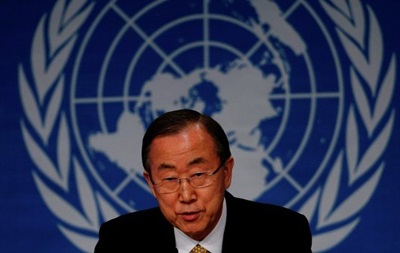 Генсек ООН встревожен обстрелом блокпоста под Волновахой