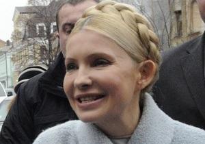 Тимошенко прибыла на очередной допрос