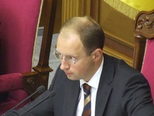 Яценюк заявил о замораживании коалициады