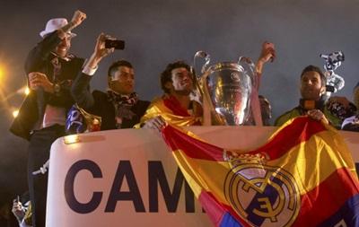 Фотогалерея: Как Реал Кубок чемпионов по Мадриду возил