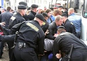 ОМОН разогнал акцию оппозиции в Минске