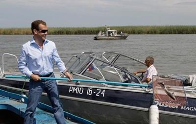 МИД Украины назвал визит Медведева в Крым  дерзостью