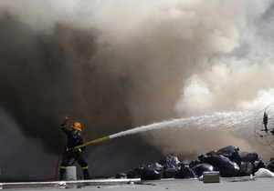 В Бангкоке спасли около 100 человек, заблокированных в горящем телецентре