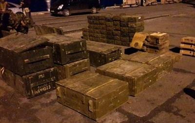 В Запорожской области задержан груз оружия для боевиков