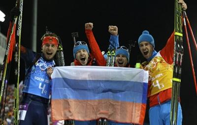 Российские биатлонисты будут стрелять из винтовок концерна Калашников