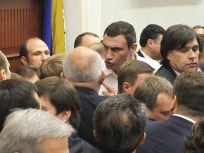 Кличко заявил о возможности фальсификации землеотводов в Киевсовете