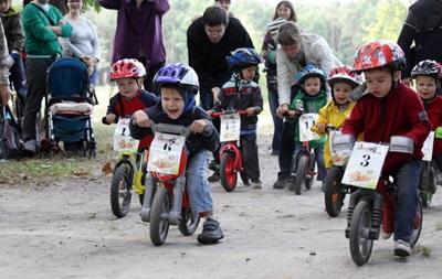 В Киеве состоятся детские велогонки