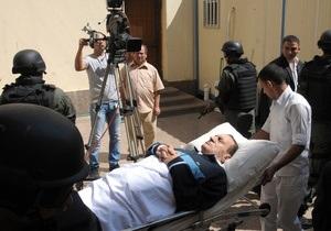 МИД России призывает Египет не выносить смертный приговор Мубараку