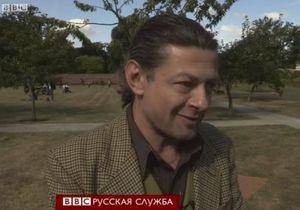 Энди Серкис: Голлум намного агрессивнее Путина