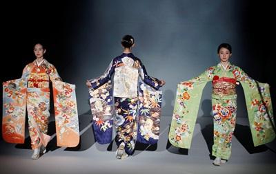 В Киеве пройдет выставка кимоно