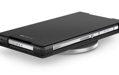 Sony выпустила беспроводную зарядку для смартфона Xperia Z2