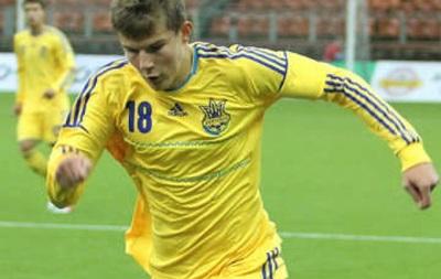 Игрок Шахтера выводит юношескую сборную Украины на Евро-2014
