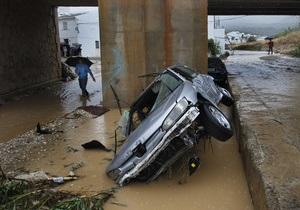 В Испании в результате наводнения на юге страны погибли семь человек