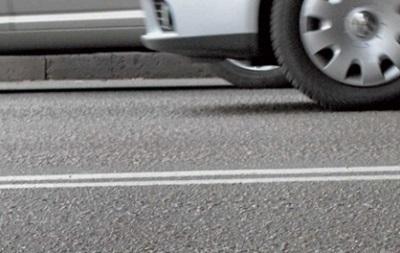 На киевских дорогах вскоре появится пластиковая разметка