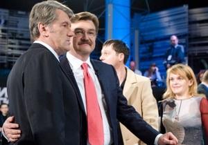 Ющенко придет в Большую политику на Интере