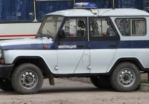 В Дагестане взорвали автомобиль милиции