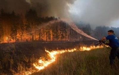 Пожары в Сибири: горит почти 2 тыс. гектаров леса