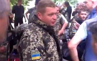 Как сдавались пограничники в Луганске - видео
