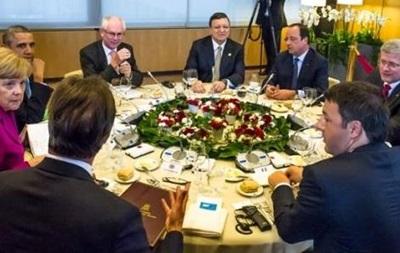 G7 считает  сдержанными  действия силовиков на юго-востоке Украины