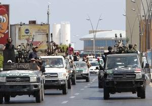 В Ливии повстанцы готовят наступление на родной город Каддафи