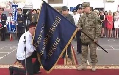 Турчинов присвоил харьковской Академии Нацгвардии статус национальной