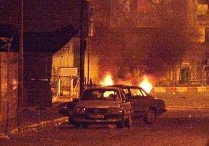 в Киеве сожгли пять автомобилей