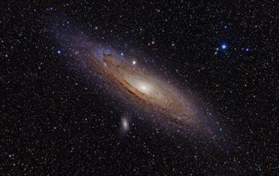 Ученые объяснили природу структуры галактики Андромеды