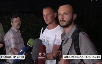Освобожденные журналисты канала Звезда прибыли в Москву