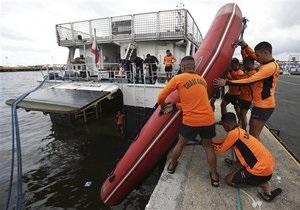 Крушение парома на Филиппинах: число погибших достигло 26