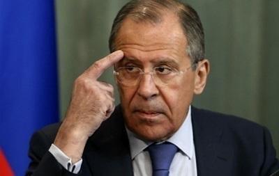 Россия не будет вводить санкции против Украины - Лавров