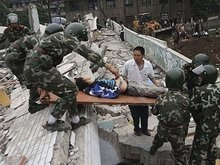 МИД: Украинцев среди жертв землетрясения в Китае нет