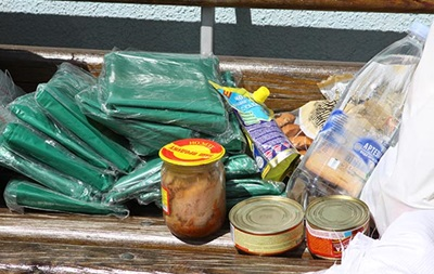 Винничане отправили бойцам АТО 40 тонн продуктов
