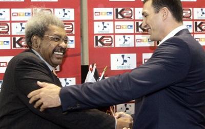 Дон Кинг требует с Кличко 5 миллионов и телеправа