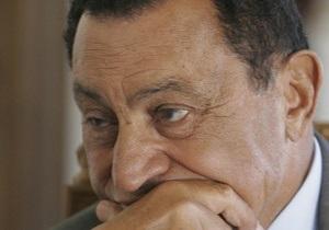 Власти Египта заявили, что Мубарак не покидал страну