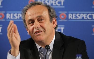 Платини отказался поддерживать Блаттера на выборах президента FIFA