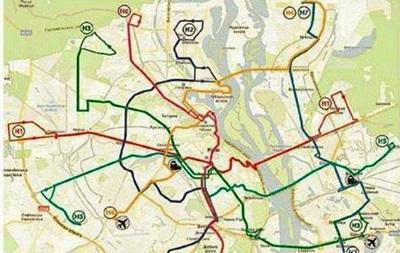 В Киеве запустят ночные маршрутки