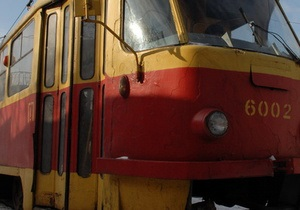 Киевские власти купили у одесского завода восемь трамваев