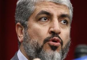 Лидер ХАМАС не видит перспектив урегулирования ситуации на Ближнем Востоке