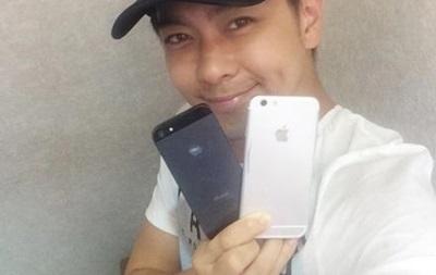 Известный тайваньский певец опубликовал фото iPhone 6