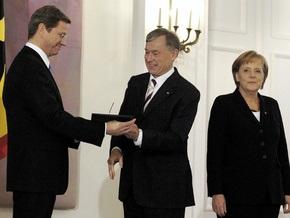 Члены нового кабинета министров Германии принесли присягу