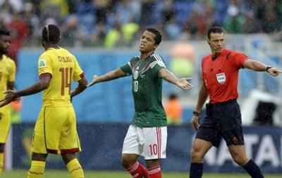 Чемпионат мира: Мексика преодолела ошибки арбитра и обыграла Камерун