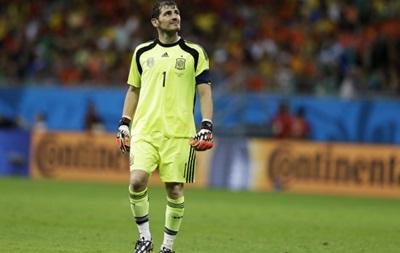 Вратарь сборной Испании: В поражении от голландцев есть доля моей вины
