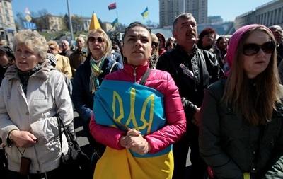 На воскресном вече в Киеве проведут флешмоб в поддержку роспуска Рады