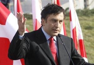 Саакашвили предупредил Запад о последствиях возвращения Грузии в сферу влияния России