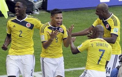Чемпіонат світу: Колумбія легко переграє Грецію