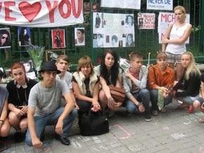 Киевские фанаты почтили память Майкла Джексона