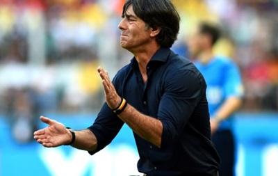 Тренер сборной Германии: Мы не дали сопернику шансов