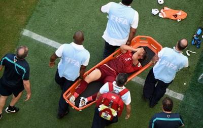 Для португальского защитника чемпионат мира завершился досрочно